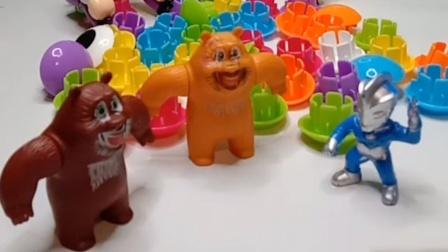 乔治破坏了熊大熊二的房子,还诬陷了光头强
