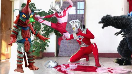 闯关族M78:佐菲和泰罗要被希波利特吸收了!奥特飞踢从天而降!赛文奥特曼日常