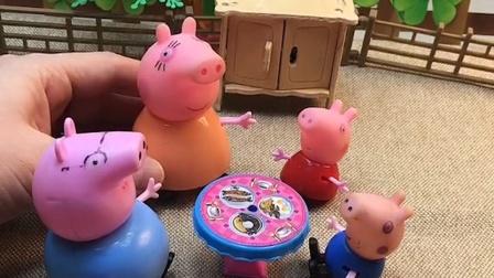 乔治回家吃饭了,乔治看见了另一个乔治,爸爸他们都说另一个听话