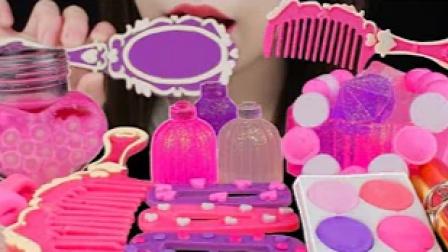 粉色公主风的创意甜点,既能吃又能玩,真是打动少女心