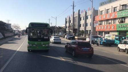 马鞍山市博望区跨省公交S9石湫站专线体验(1):博望区境内。