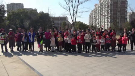 大合唱《我们是共产主义接班人》向阳院2021年公益快闪