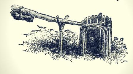 百年老鼠夹长达1米,用来抓老鼠有点可惜,改装一下能抓野猪!