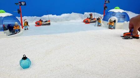 滑雪场突发事件