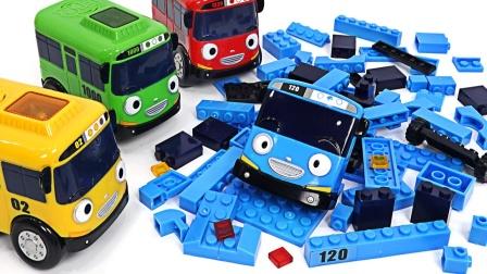 小公交一起组装汽车零件