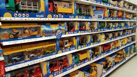 彩色工程车农用车模型玩具拆盒