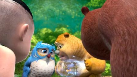 熊二好喜欢小动物尤其是小鱼小朋友喜欢动物吗