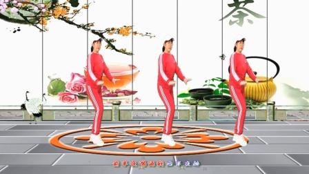 梦中的流星广场舞《泪蛋蛋掉在酒杯杯里》32步优美舞蹈