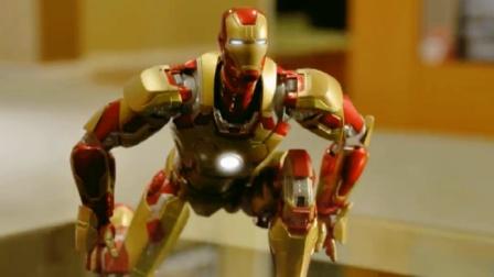 蜘蛛侠玩具动画:钢铁侠的能量觉醒,简直太帅了
