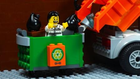乐高市越狱垃圾车