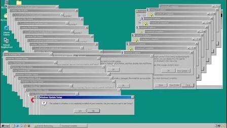 PSY Stole the Stylish Tada.wav thing Windows 98 Crazy Error X  4K60FPS