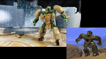 变形金刚玩具,坚如磐石,擎天圣小队中最冷静并且可靠的犀牛司令