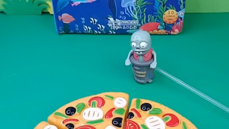 小鬼请小朋友吃披萨,发现给佩奇的那块不见了,到底是谁拿走了