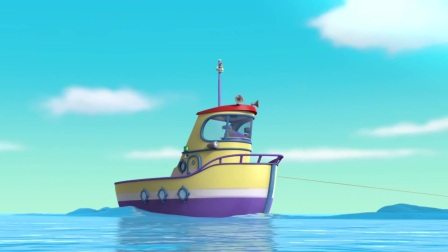 汪汪队:大章鱼抓了冒险湾的居民,汪汪队吸引注意,解救人质!
