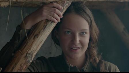 这就是二战时的苏联女兵,用美人计诱敌,下场好惨看哭了!战争片