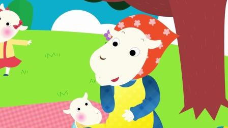 羊妈妈不在家大灰狼要吃掉7只小山羊这下该怎么办