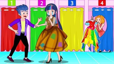 哈哈,阿坤收到的礼物是最奇怪的?小马国女孩游戏