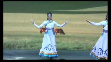五人女子组合蒙古舞《白马》