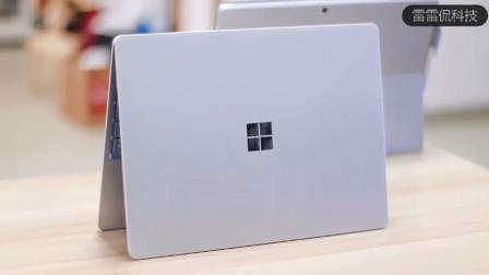 微软Surface Laptop Go开箱体验,12英寸的小身板,却给人饱满的使用感受