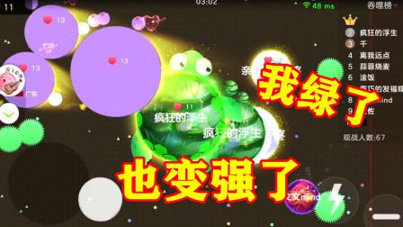 球球大作战浮生:一个绿毛龟的凶残生存之旅