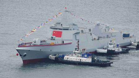 真中华神盾有望055实现,其核心超越美驱逐舰,仅福特航母做到