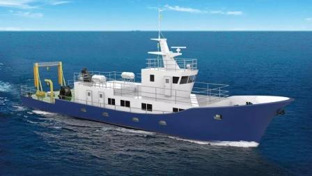 """中国大型海洋监测船,由30吨钛合金打造,性能媲美美""""无暇""""号"""