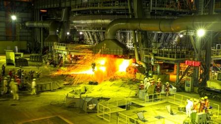 中国钢铁高炉曾领先全球?相当于日本一年的产量