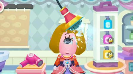 化妆美容院 给小怪物做漂亮的发型~宝宝巴士游戏