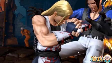 拳皇14:安迪超杀表演秀,金发小哥的肘击你扛得住吗?