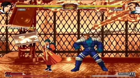拳皇VS街霸:高岭响的7种超杀秀,一刀就能要你的命