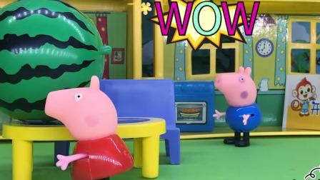 恐龙怎么一直追猪爸爸?难道是乔治变的吗?