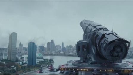 人类最后的防线,隐藏在运河里的超级武器,一炮击毁外星飞船