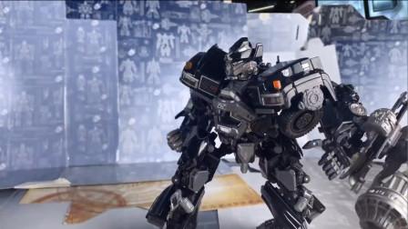 变形金刚玩具,擎天柱的老友兼贴身保镖,实力强悍的铁皮