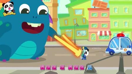 小熊猫与大怪兽大作战小猫咪也一起来帮忙