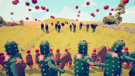 全面战争模拟器游戏 最新植物军团对抗僵尸