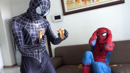 黑衣蜘蛛侠终于聪明了一次