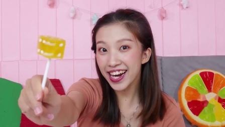 张大牙爱搞怪:只要唱一遍歌词就能变出糖果,大牙太高兴了
