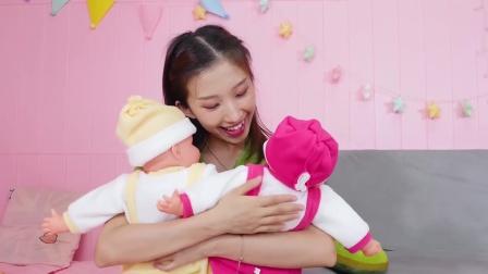 张大牙爱搞怪:大牙照顾宝宝太不容易了,小猪佩奇啥也不用干