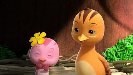 萌鸡宝贝们跟小马公主玩得好开心哦