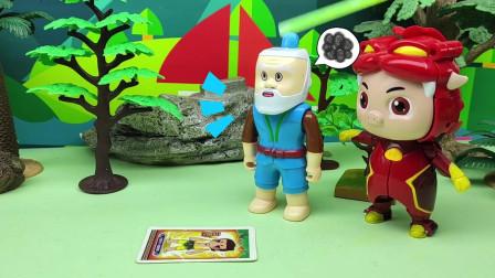蛇精抓了葫芦娃,爷爷没办法,猪猪侠能不能救出葫芦娃呢?