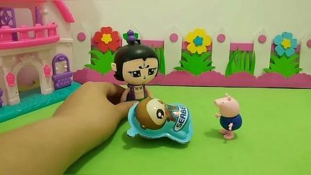 葫芦娃能打开奇趣蛋吗?