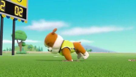 汪汪队:海丽娜又出坏主意,放出地鼠破坏比赛,狗狗队机智应对