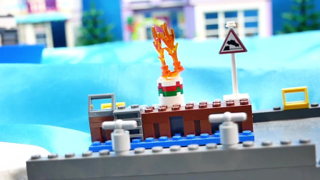 海上消防员成功扑灭游轮上的火