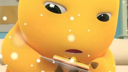 动画:这掉地上的食物不能吃了吧?奶龙就是不服!