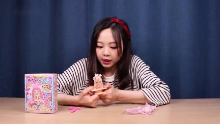 小伶玩具:费了九牛二虎之力才做出头发来,都怪糖果太硬了