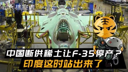 中国断供稀土让F35停产?美下决心填补空白,印度这时站出来了