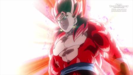 龙珠:超四悟吉特闪亮登场,一拳打飞了费由,这就是王者的力量