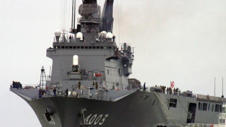 为规避和平宪法,日本在建造航母时迂回包抄,创新出新舰种