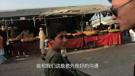实拍巴基斯坦最大集市,还有中国没有的新职业!真好!