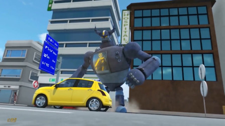 超级变形金刚第八季_动画解说_13_机器人的心灵感应